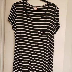 Black & White stripe sundress
